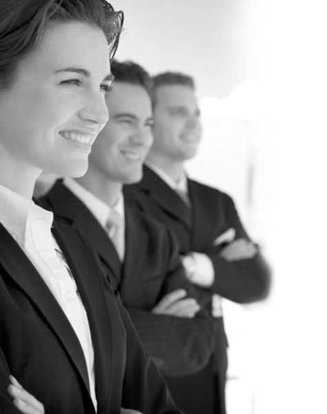 Black-and-white-1-female-and-2-males-in-business-suits