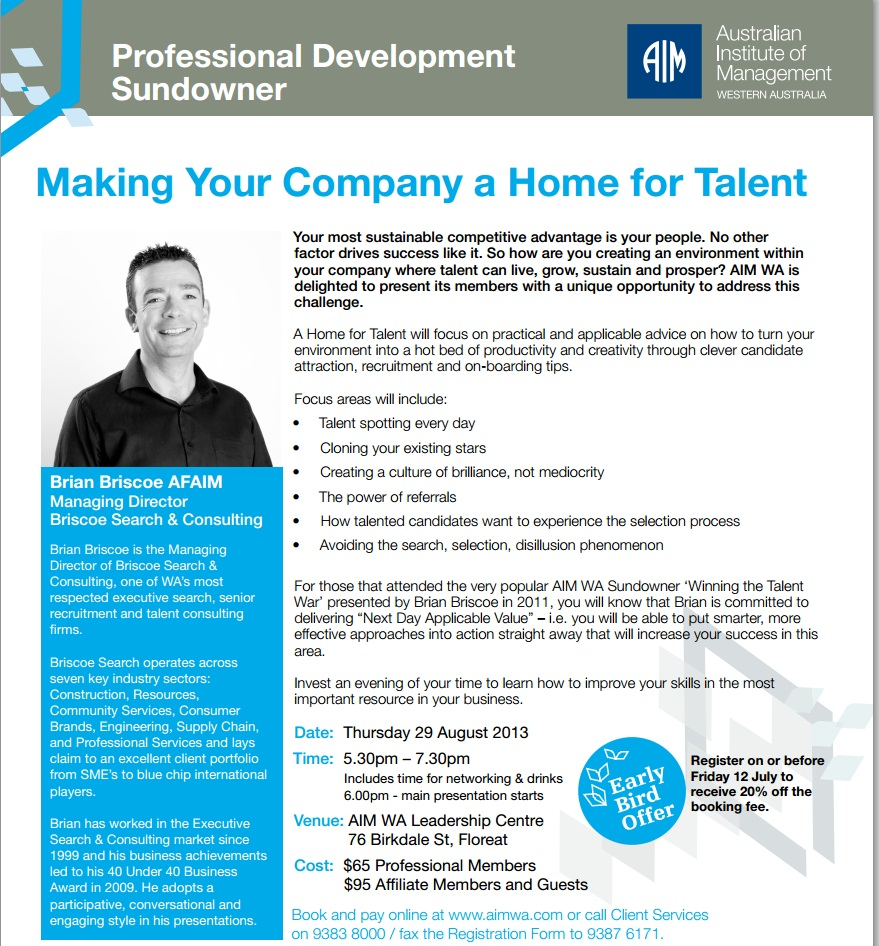 Making_Your_Company_a_Home_for_Talent_Sundowner