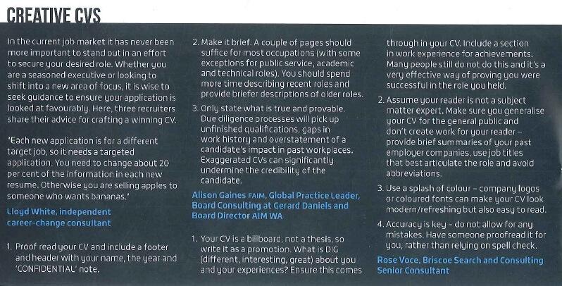 AIM Leader Magazine article March 2016